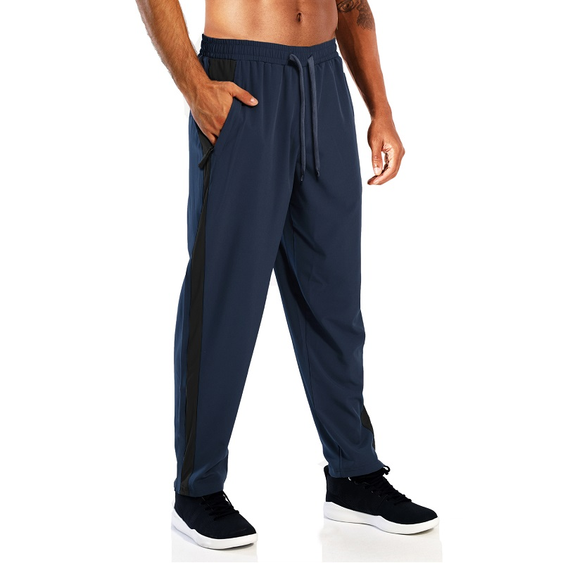 Manufacturer For Running Dry-fast Drawstring Cheap Men Pants Polyester Spandex Mens Gym Summer Trousers